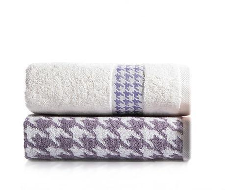 Zestaw 2 ręczników kąpielowych Coxy Blue Violet 50x90 cm