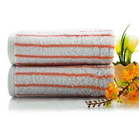 Ręcznik kąpielowy Life Pink 50x90 cm