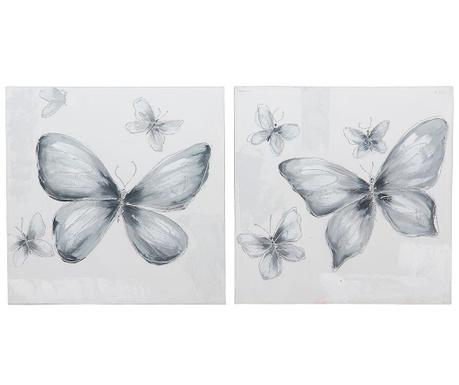 Genesis Butterfly 2 db Kép 60x60 cm