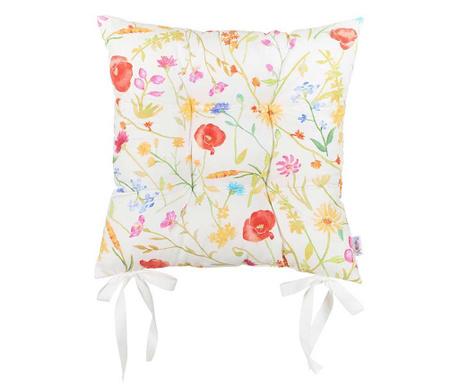 Jastuk za sjedalo Slim Flowers 37x37 cm