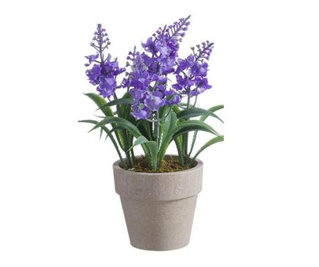 Lavanda Light Purple Műnövény virágcserépben