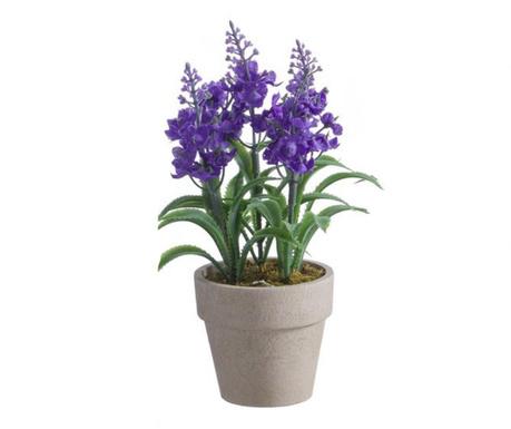 Lavanda Purple Műnövény virágcserépben