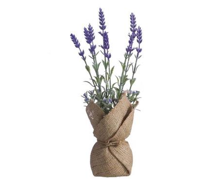 Lavanda Tela Purple Műnövény virágcserépben