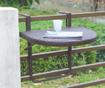 Viseča miza za balkon Agra