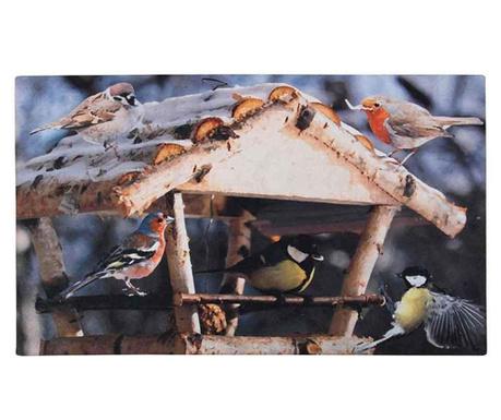 Covoras de intrare Feeding Birds 46x76 cm