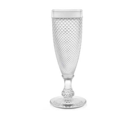Sada 6 pohárov na šampanské Diamanto 160 ml