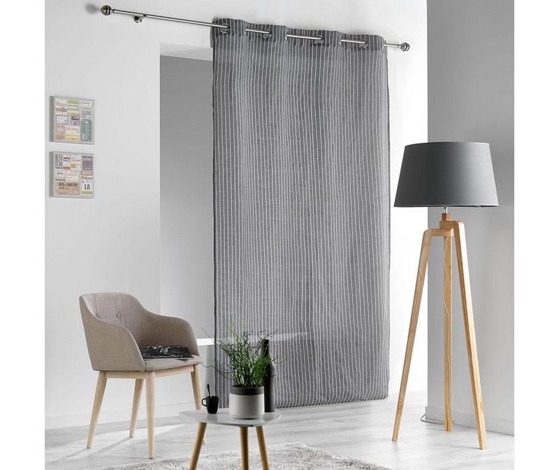 Draperie Sofiane Grey 140x260 cm