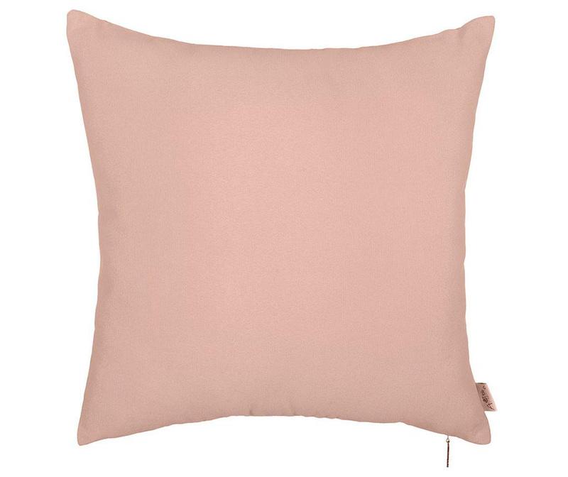 Fata de perna Thoughts Light Pink 41x41 cm