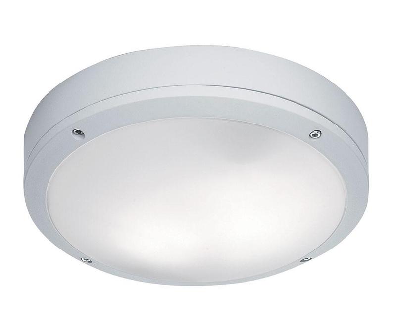 Leros Round White Kültéri mennyezeti lámpa