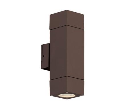 Vanjska zidna svjetiljka Paros Brown Tall