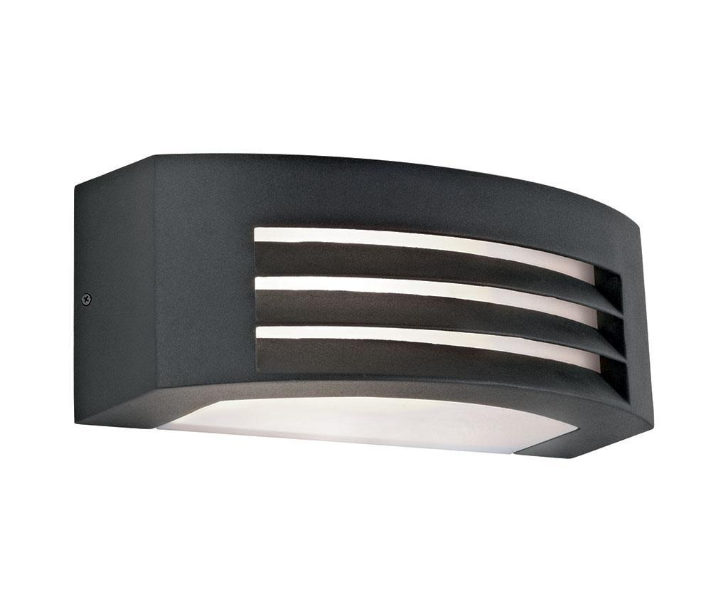 Vanjska zidna svjetiljka Limnos Black