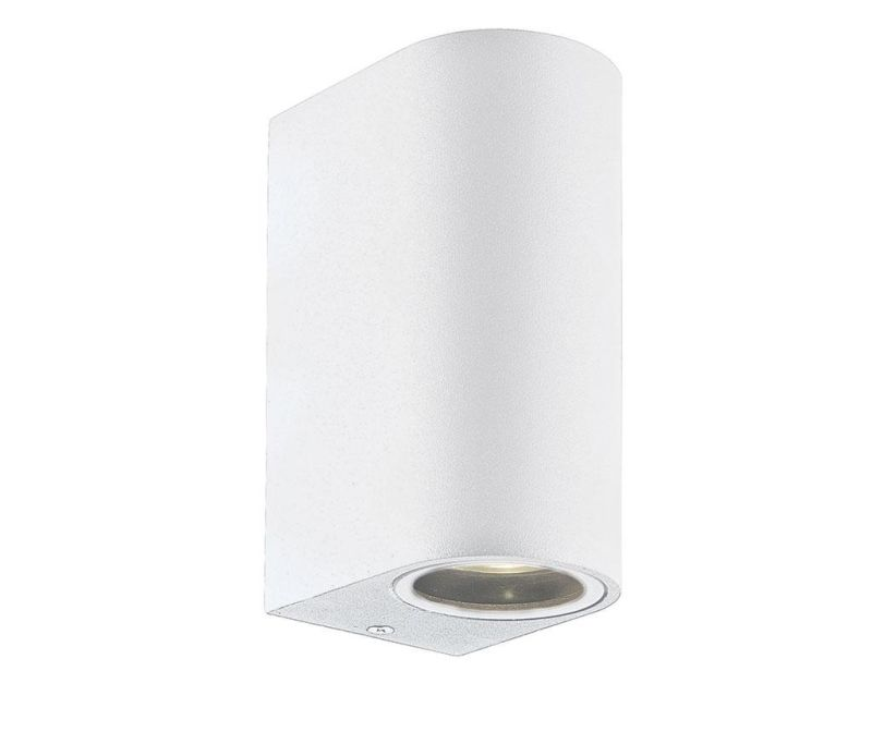 Vanjska zidna svjetiljka Tilos Gliss Tall White