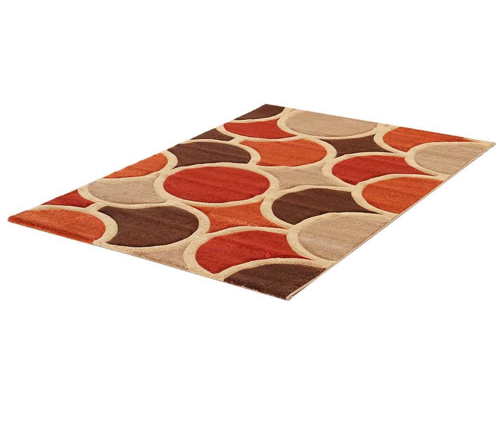 Preproga Sixties Orange 100x150 cm
