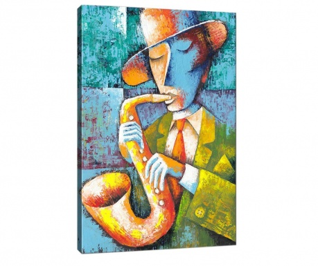 Slika Saxophone Player 50x70  cm
