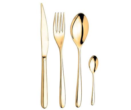 24-dijelni set pribora za jelo Novecento Gold