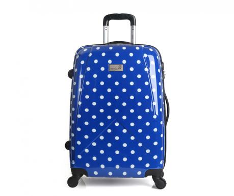 Bethune Blue  Gurulós  bőrönd