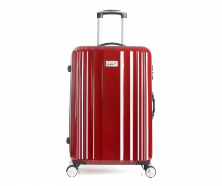 Porto Burgundy  Gurulós  bőrönd