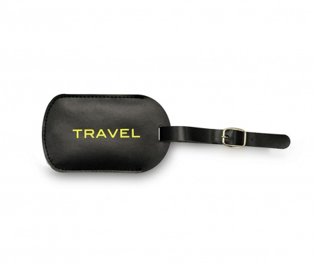 Eticheta pentru bagaje Travel Yellow