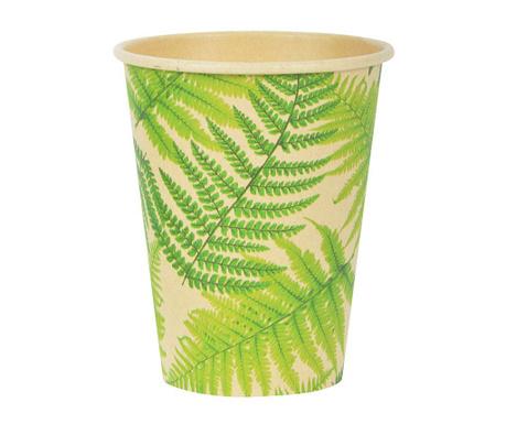 Sada 10 jednorázových kelímků Palm