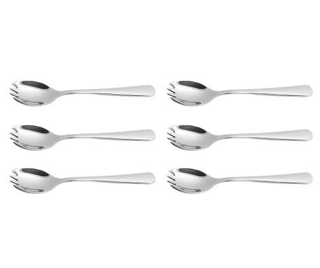 Set 6 furculite pentru aperitive Jasmine