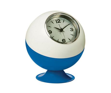 Retro White Blue Asztali óra