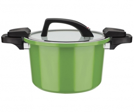 Дълбока тенджера с капак Energie Green 6 L