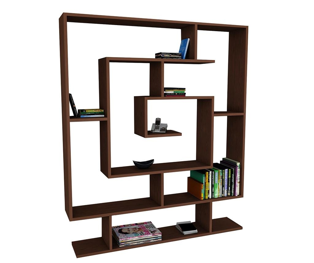 Corp biblioteca Maze Dark Brown
