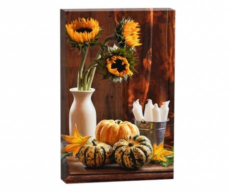 Sunflowers and Pumpkin Kép 50x70 cm