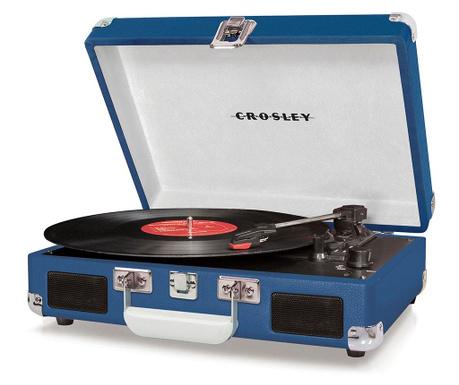 Gramofon Crosley Cruiser Deluxe Blue