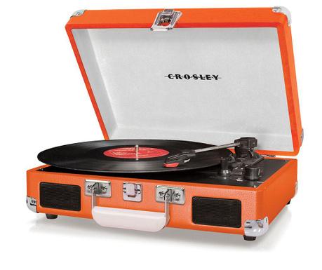 Gramofon Crosley Cruiser Deluxe Orange