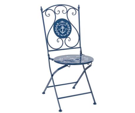 Składane  krzesło zewnętrzne Marine Club