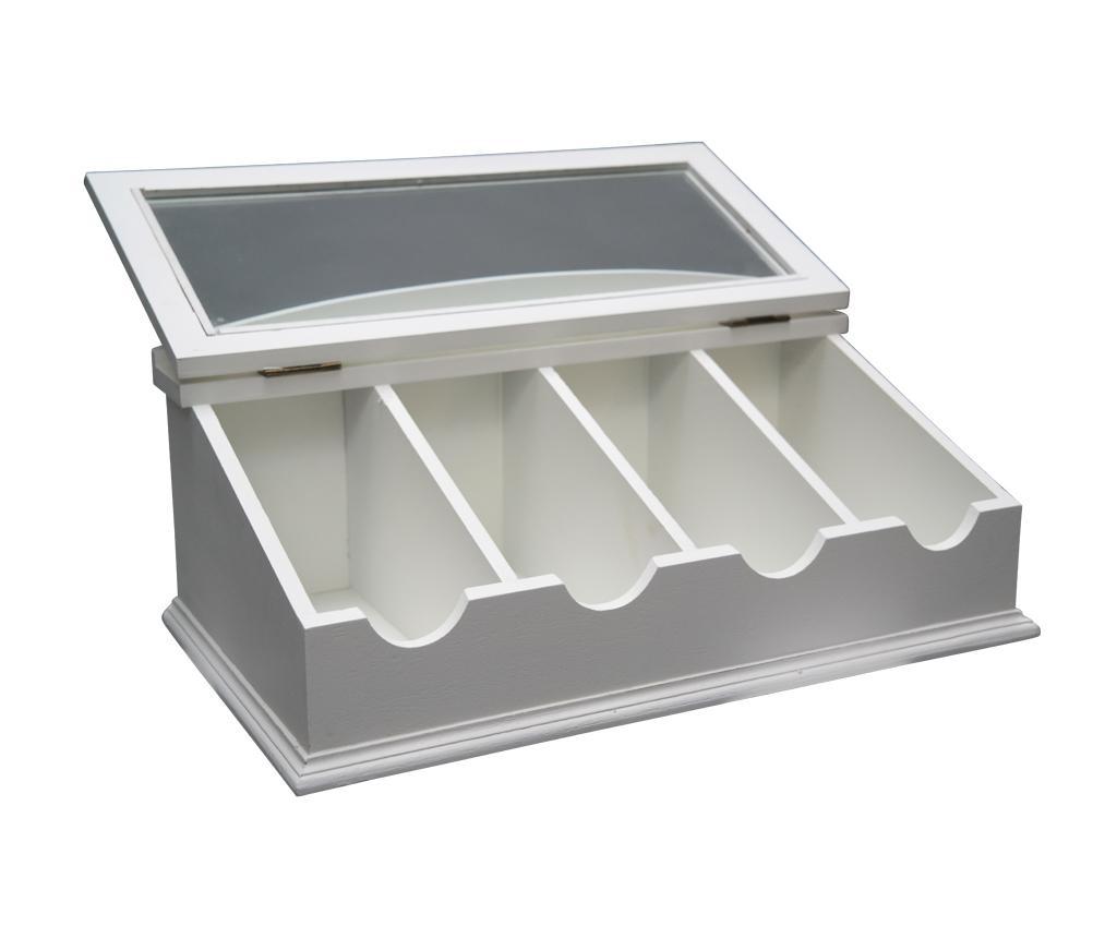 Kutija za pribor za jelo s poklopcem Chic