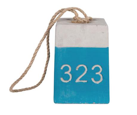 Numbers Blue Ajtótámasz