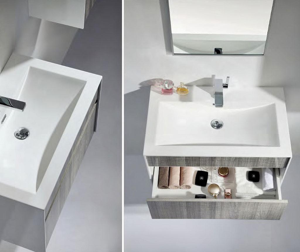 Diella Mosdókagyló és szekrény