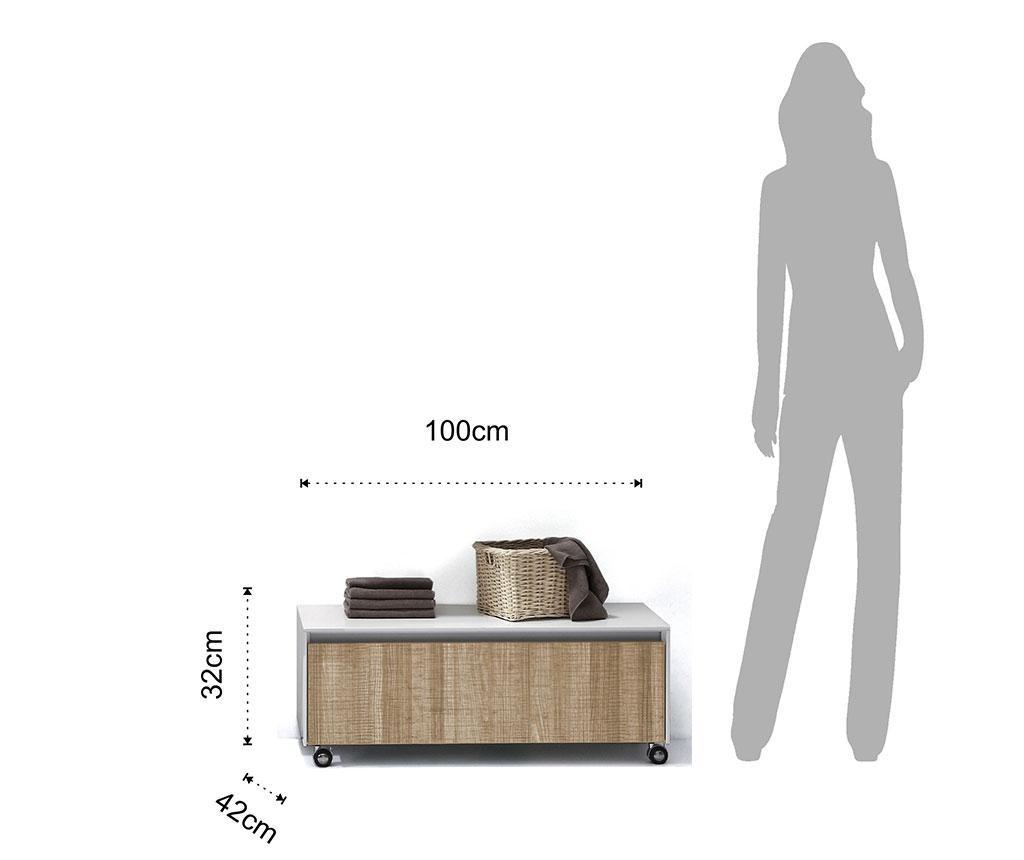 Diar Fürdőszobai asztalka