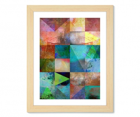 Geometric Colours Kép 57x77 cm