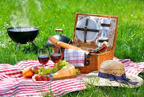 Пикник в градината