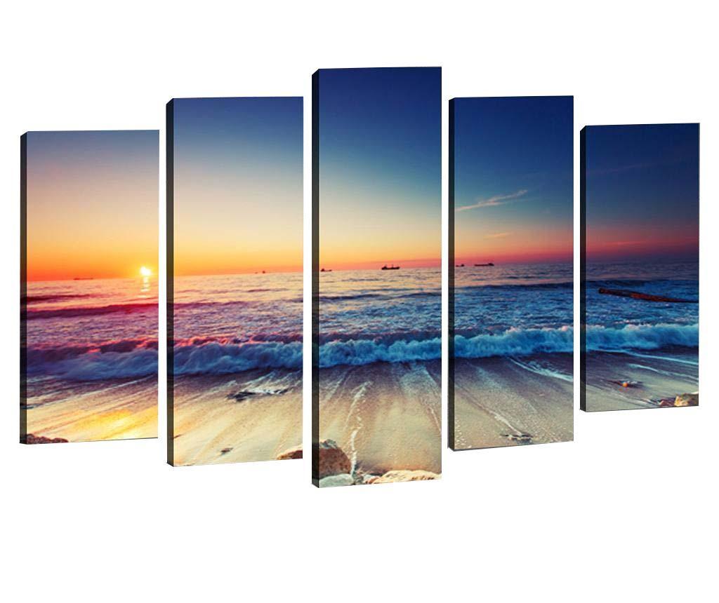 Set 5 slik 3D Ocean Waves
