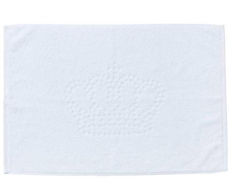 Uterák na nohy Crown Style White 50x70 cm