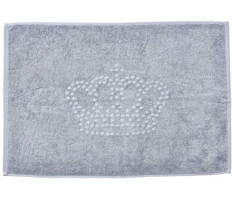 Ręcznik do stóp Crown Style Grey 50x70 cm
