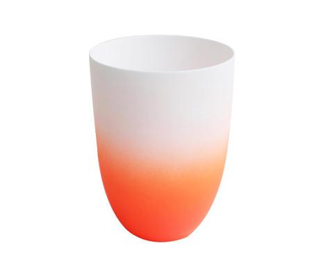 Suport pentru lumanare Neon White Orange
