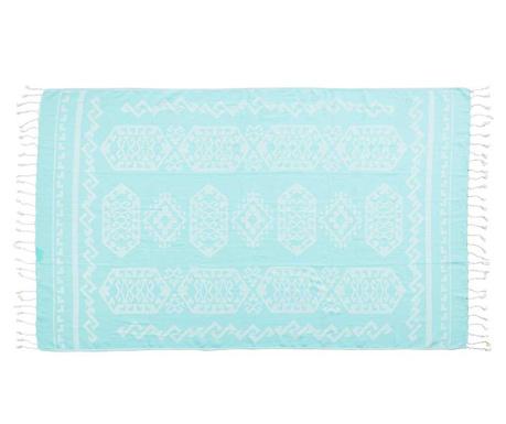 Кърпа за баня Caya Stuff Turqoise 90x180 см