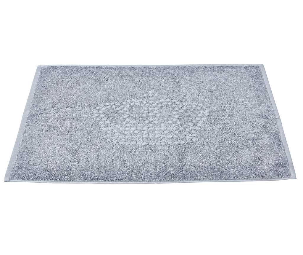 Кърпа за крака Crown Style Grey 50x70 см