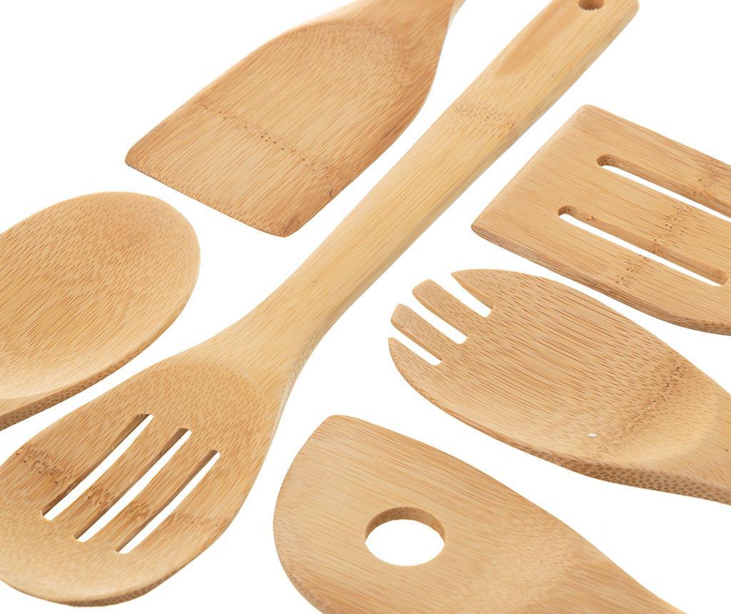 Set 6 kuhinjskih pomagala Natural
