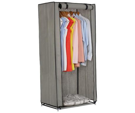 Evio Dark Grey Textil szekrény