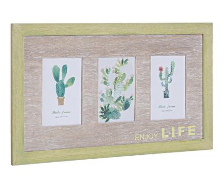 Cactus Fényképtartó 3 fényképnek
