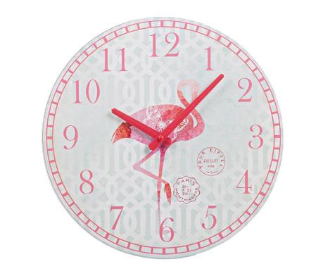 Zidni sat Flamingo
