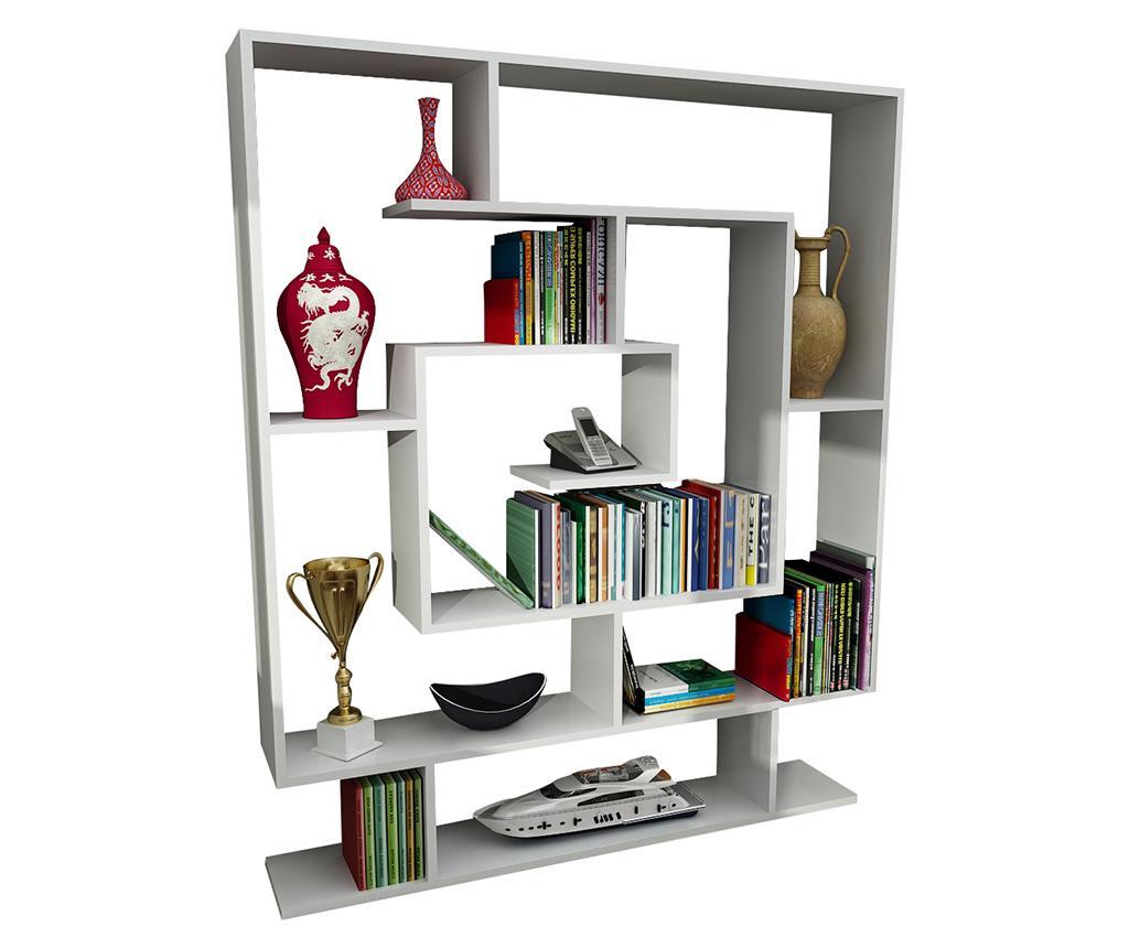 Maze White Könyvszekrény