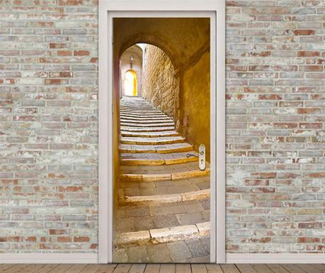 Naklejka na drzwi Stone Stairway