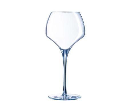 Sada 6 pohárov na víno Clear 550 ml